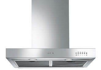 KSE6500X 60cm Chimney Hood in Stainless Steel