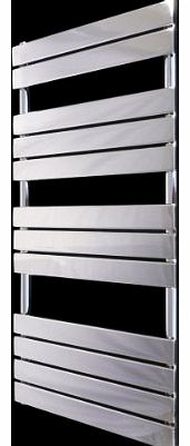 SMH Vicenza Designer Flat Chrome Heated Bathroom Towel Rail Radiator 1200 x 600 mm product image