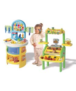 Fantastic value complete play set. Includes kitche - CLICK FOR MORE INFORMATION