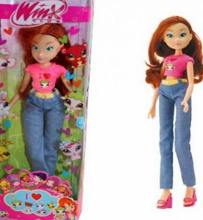 Smoby Toys Winx Club - I love my pet - Bloom Doll 28cm