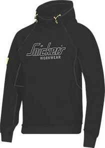 Snickers, 1228[^]25926 Logo Hoodie Black Large 43`` Chest 25926