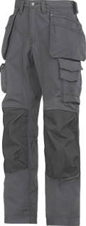 Snickers, 1228[^]91726 Rip-Stop Floorlayer Trousers Grey /