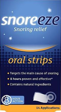Snoreeze, 2041[^]10049833 Snoring Relief Oral Strips - 14