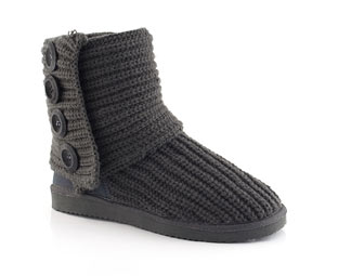 Snug Knitted Mid High Boot