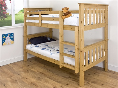 Snuggle Beds Madison Bunk Bed Antique Pine Single (3) product image