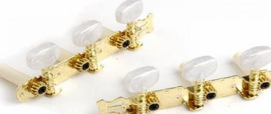 SODIAL(R) One Set of Classical Guitar Tuning Keys Pegs Machine Heads Tuner