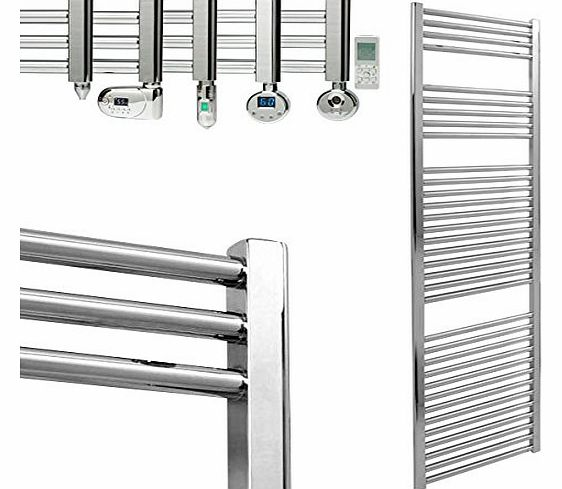 Straight Chrome Heated Towel Rail Electric Ptc The Bray: Compare Prices Of Heated Towel Rails, Read Heated Towel