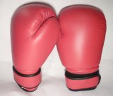 PROFESSIONAL SYNTHETIC LEATHER BOXING MARTIAL ARTS SPARRING GLOVES RED 12oz