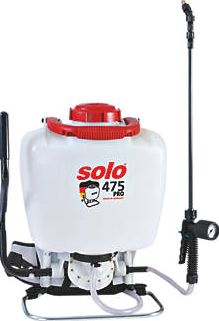 Solo, 1228[^]2027J SO475/D White Professional Backpack Sprayer