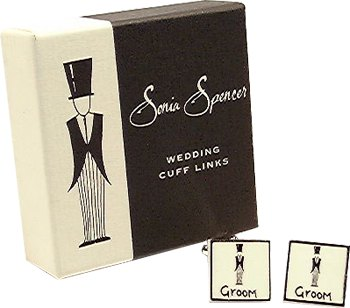Sonia Spencer Groom Cufflinks