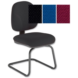 Choices Cantilever Visitors Chair Black