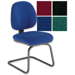 Choices Cantilever Visitors Chair Blue