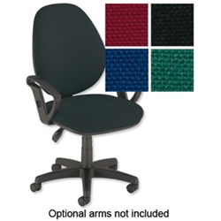 Desire High Back Operators Chair Charcoal