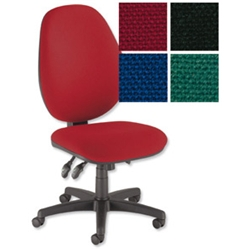 Desire Maxi Back Operators Chair Burgundy