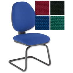 Desire Visitors Chair Blue