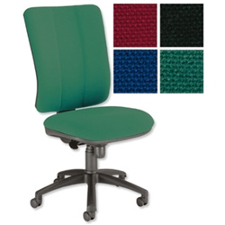 Mode Maxi High Back Operators Chair Green