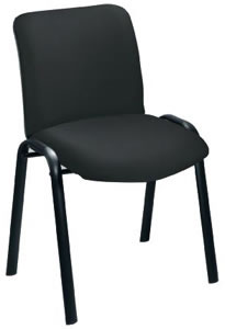 Reception Side Chair W490xD460dH875mm Back