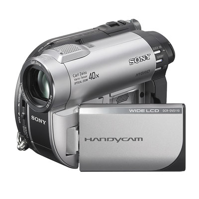 Sony DCR-DVD110 DVD Camcorder/ - review, compare prices ...