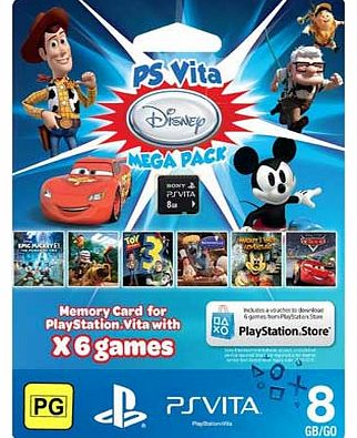 Disney PS Vita 8GB Mega Pack