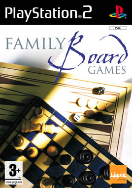 Family Boardgames PS2
