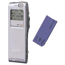 Sony ic recorder icd p630f