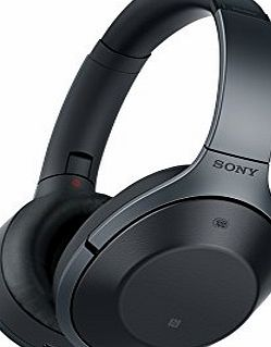Sony MDR-1000X Bluetooth Noise Cancelling Ambient Sound Touch Sensor High Resolution Audio Headphones - Black