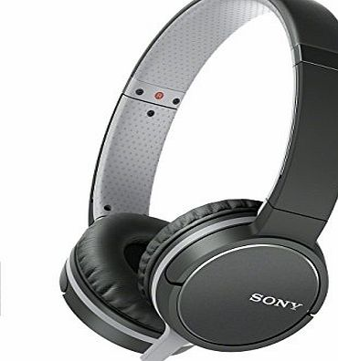 Sony MDR-ZX660AP Lightweight Over-Ear Headphone with Smartphone Control - Black