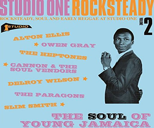 Soul Jazz Records Studio One Rocksteady 2: The Soul Of Young Jamaica - Rocksteady, Soul And Early Reggae At Studio One