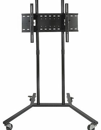 soundlab heavy duty lcd plasma tv screen trolley stand mount review compare prices buy online. Black Bedroom Furniture Sets. Home Design Ideas