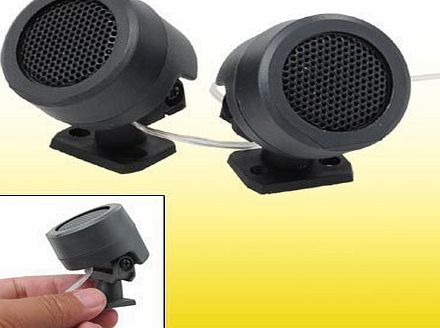Sourcingmap 2 PCS 500 Watt Dome Car Tweeters Stereo Audio Speakers