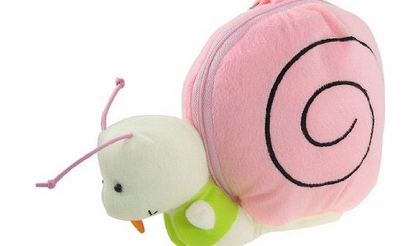 Sourcingmap Soft Snail Kids Toy CD DVD Carry Case Storage Bag
