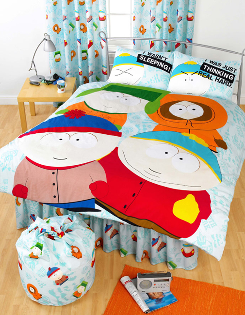 South Park Double Bed Sheets
