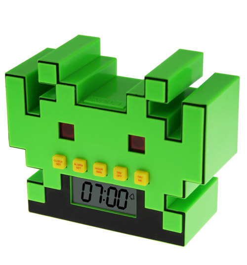 Invaders Alarm Clock