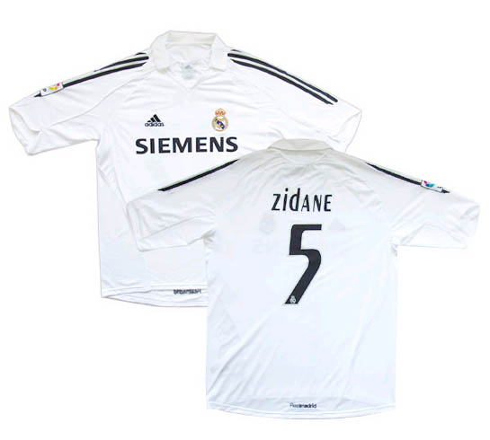 Real Madrid home (Zidane