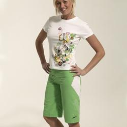 Ladies Fling Short Sleeved T Shirt from Speedo. A stylish T Shirt with funky design for volleyball o - CLICK FOR MORE INFORMATION