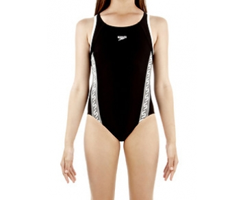 Speedo Monogram Muscleback Girls Swimsuit product image