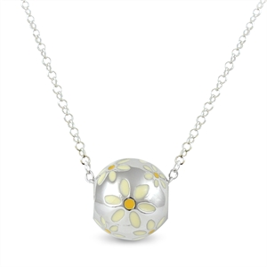 Sphere of Life Cute - Small Daisy Pendant
