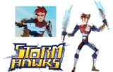 Spin Master Storm Hawks Deluxe Figure Aerrow product image