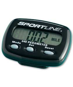 sportline pedometer 345 owners manual