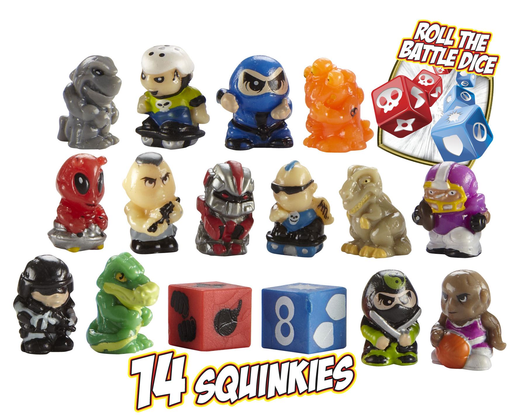 Squinkies Toys For Boys : Squinkies boys pc bubble pack asstd series review