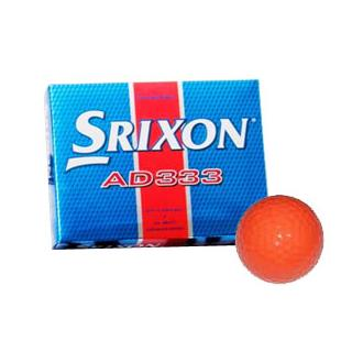 AD333 Orange Golf Balls (12 Balls)