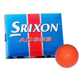 AD333 Orange Golf Balls 12 Balls