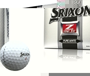 Z-Star XV Pure White Golf Balls - Dozen
