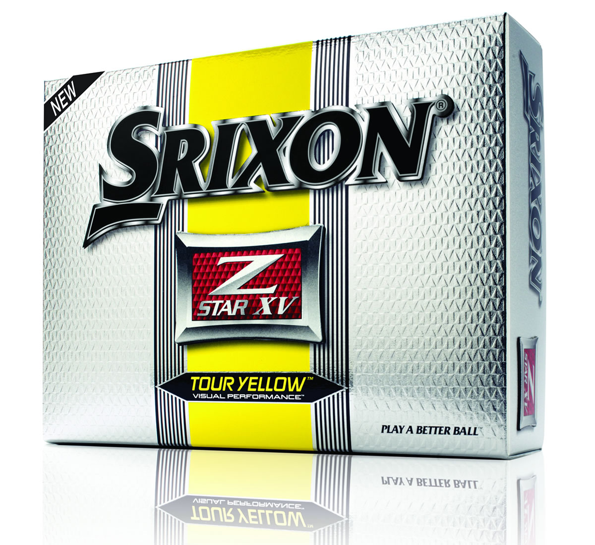 Z-STAR XV Tour Yellow Golf Balls