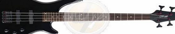 Stagg BC300 3/4 BK 3/4 Electric Bass Guitar - Black