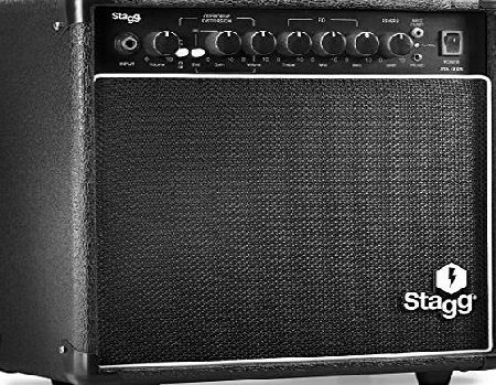 Stagg STA15 DR UK 15 W Guitar Amplifier with Digital Reverb