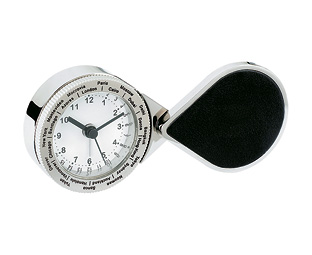 Stainless Steel Travel Clock product image