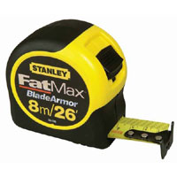 Fat Max 8 Metre / 26 Feet Tape Measure