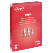 staples copy paper A staple in virtually every office setting, this paper mate 70520 medium pink pearl eraser easily removes pencil marks from paper for quick correction.