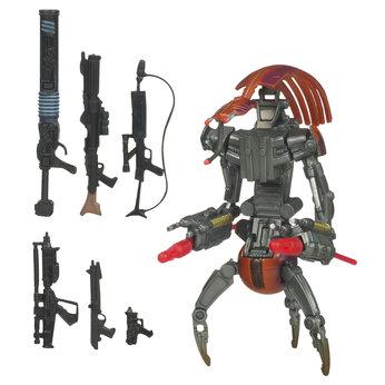 Star wars saga legends figure destroyer droid clone wars destroyer